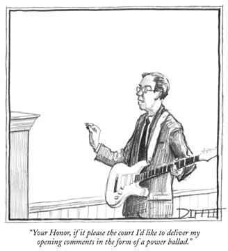 Courtroom cartoon