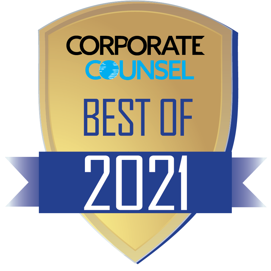 Corporate Counsel Best of 2021 Award