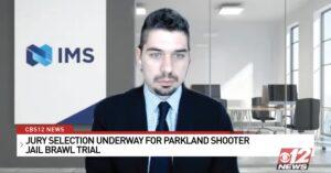 Aref Jabbour on CBS12 News